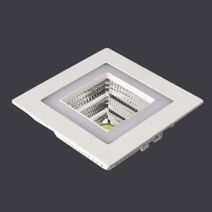 Aluminum Die Casting+Acrylic Square Tilt Recessed LED Down Light. Ce RoHS pictures & photos