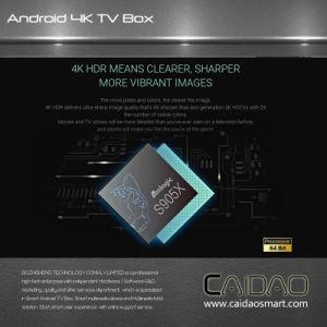 Amlogic 64bit Processor Quad Core 2GB RAM Internet TV Box Based on Android 6.0 pictures & photos
