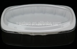 White Disposable Plastic Fruit Tray (SZ-301) pictures & photos