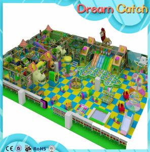 Kids Commercial Interior Playground, Indoor Playground Equipment with Safety pictures & photos