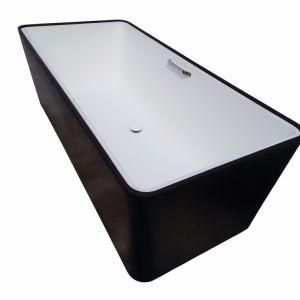 White Black Colour Custom Size Small Bathtub pictures & photos