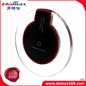 Mobile Phone Accessories for Samsung Galaxy S6 Qi Wireless Inductive Charger pictures & photos