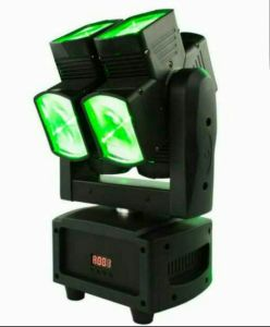 Adj Crazy Beam Light Double Wheel 8X10W LED Moving Head pictures & photos