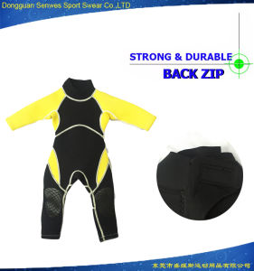 Neoprene Kids Flexible Elastic Shorty Scuba Diving Surfing Suit pictures & photos