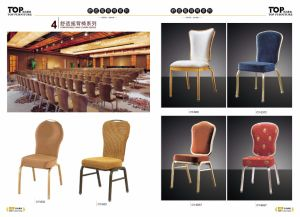 Hotel Metal Rock Back Banquet Chair pictures & photos