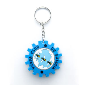 Promotion Colorful Soft PVC Key Chain pictures & photos