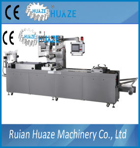 Seafood Thermoforming Vacuum Map Packaging Machine Line pictures & photos