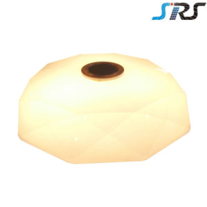 APP Ceiling Lamp Bluetooth Speaker Music LED Ceiling Light RGB White Color Dimmable Living Room Lamp pictures & photos