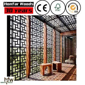 Goo Quality Wood Room Divider for Salon or Hotel Lobby pictures & photos