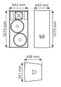 F25 Dual 15′′ PRO Speaker (TACT) pictures & photos