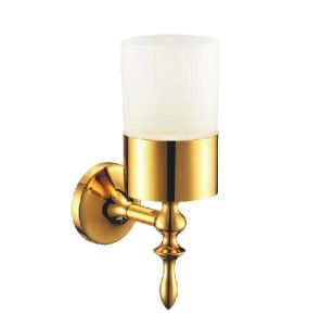 Brass Bathroom Wall Glass Soap Dish Holder (CAG90019) pictures & photos