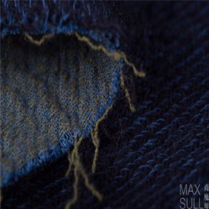 Mixed Wool Fabric with Durable for Autumn Winter in Blue pictures & photos