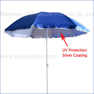 UV Protection Beach Umbrella (OCT-BUNUV) pictures & photos