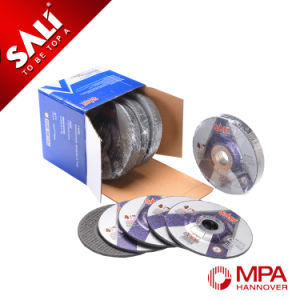 High Quality Aluminum Oxide T42 6mm Metal Grinding Cutting Disc pictures & photos