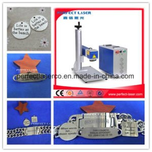 20W 30W Jewelry Gold Ring Plastic Color Optical Mini 3D Metal Laser Marking Machine for Watches pictures & photos