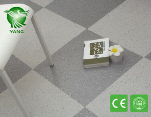 Wear Resistance PVC Vinyl Flooring Wood Design Anti - Slippery Vinyl Floor Covering