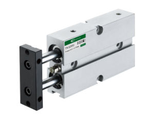 Double Rod Slide Pneumatic Cylinder pictures & photos