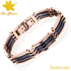 Exquisite Stainless Steel Bike Chain Bracelet pictures & photos