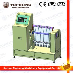 Six Station Cable Bending Fold Testing Machine for ± 90° pictures & photos