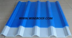 Winsroof Multiroof Tile-Aupvc Hollow Roof Tile pictures & photos