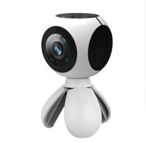 Kinstone Dual 360 Sport Camera Poratble 3D Vr Video Panorama Camera Action 360 Degree Wireless Camera pictures & photos
