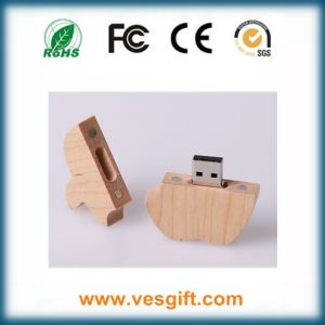 Wood USB Flash Driver 16GB Pendrive Flash Memory Disk pictures & photos