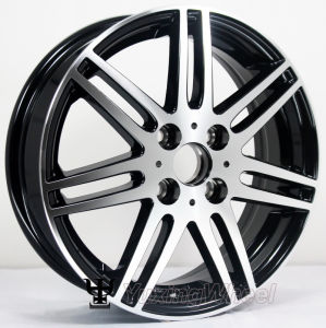 15 Inch Black Aluminium Alloy Rim or Alloy Rims with OEM & ODM pictures & photos