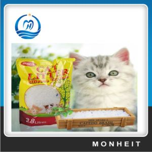 Non-Clumping Silica Gel Litter Sand for Cat Colorful 1-8mm Granules pictures & photos