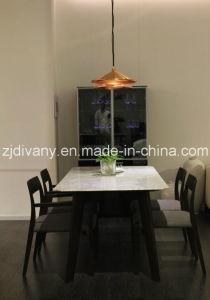 Modern Black Wood Glass Door Display Cabinet (SM-D37) pictures & photos