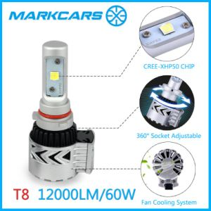 Markcars Auto LED Headlight H4 with Fan Heat Dissipation pictures & photos