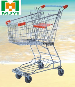 60L Asia Supermarket Retail Store Convenient Shopping Trolley pictures & photos