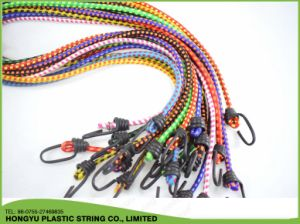 6mm High Quality Elastic Latex Bungee Cord Trampoline Rope pictures & photos