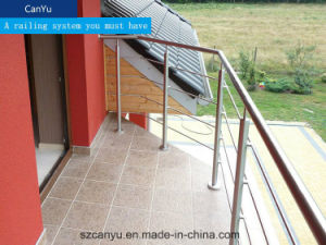 Customized Fabricated Outdoor Stainless Steel Stair Railing pictures & photos
