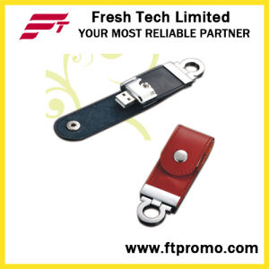 New Design Leather Style USB Flash Drive pictures & photos