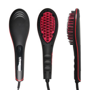 Ufree Professional LED Hair Straightener Brush pictures & photos