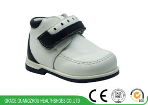 Sheep Leather Soft Kids Shoes for Steady Walking pictures & photos