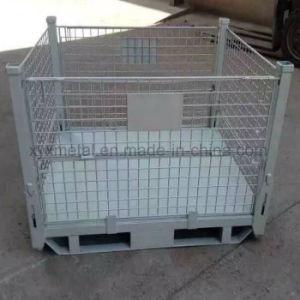 Heavy Duty Warehouse Steel Stillage Wire Mesh Storage Cage pictures & photos