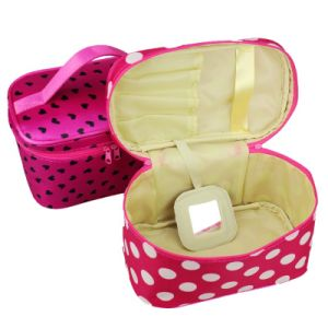 Spot Portable Cosmetic Bag Jewelry Bag Travel Toiletry Kits Bag pictures & photos