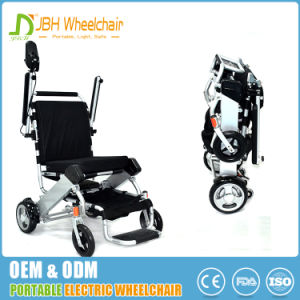 Lightweight Motorized Folding Aluminum Electric Wheelchair pictures & photos