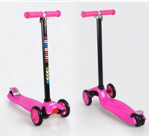Plastic Wheels Kids Baby Scooter pictures & photos