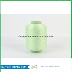 Polyester Filament Yarn and Dope Dyed DTY in Home Textile for Bedspread pictures & photos