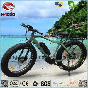 Alloy Frame Fat Tire E Bike LCD Display Beach Scooter Power Motor pictures & photos