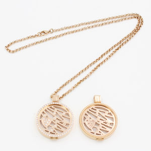 Iprg Plated Coins with Plant Elements Fit Locket Pendant Fashion Jewelry pictures & photos