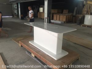 Shop Marble Top Retail Display Table Design pictures & photos