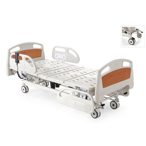 Yshb103D Three-Function Electric Hospital Patient Bed pictures & photos