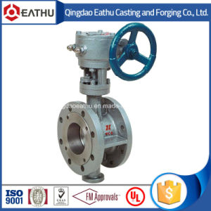 BS En 593 Cast Iron EPDM Seat Flanged Butterfly Valve pictures & photos