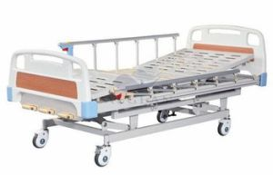 AG-BMS003 with Al-Alloy Handrails Durable Pediatric Hospital Bed pictures & photos