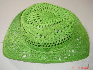 Colorful Hand Made Weave Malan Flower Straw Hat pictures & photos