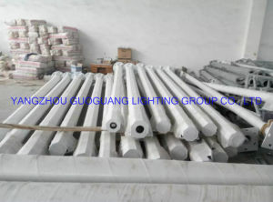 Q235 Hot-DIP Galvanized Street Light Pole pictures & photos