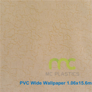 Home Decoration 3D PVC Wallpaper 1.06X15.6m pictures & photos